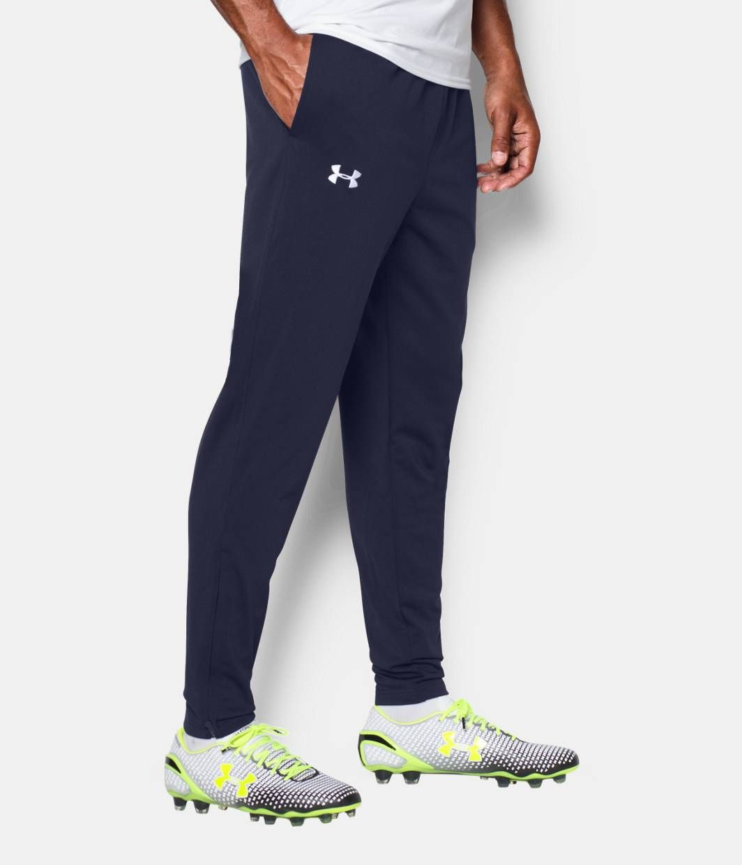 a62b563db037 Shop Under Armour for Men s UA Futbolista Soccer Track Pants in our Mens  Bottoms department. Free shipping is available in CA.