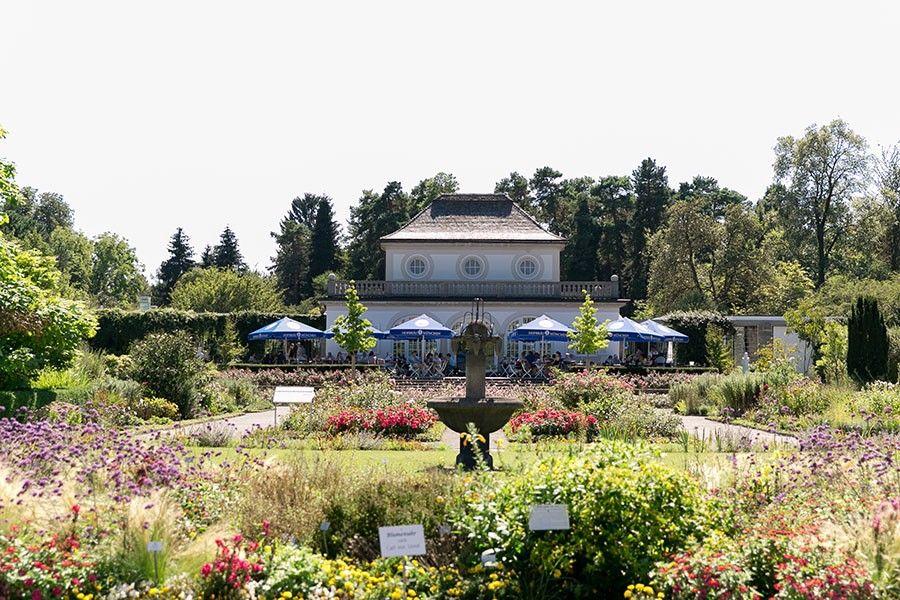 Eine Romantische Hochzeit Im Botanischen Garten Munchen Fotos Von Der Tischdeko Im Zarten Vinta Garten Munchen Romantische Hochzeit Botanischer Garten Munchen