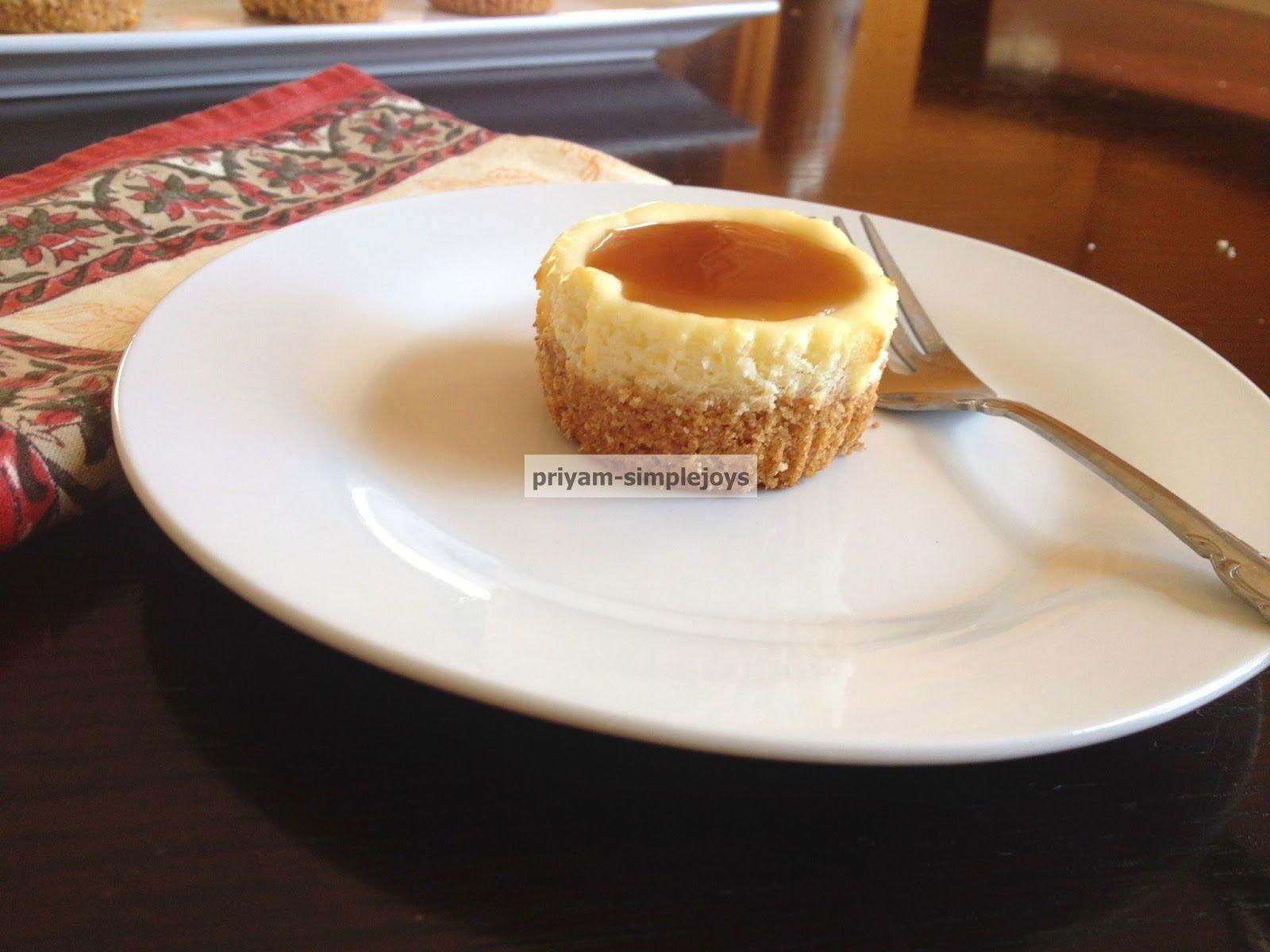 SimpleJoys: Cheesecake cupcake.