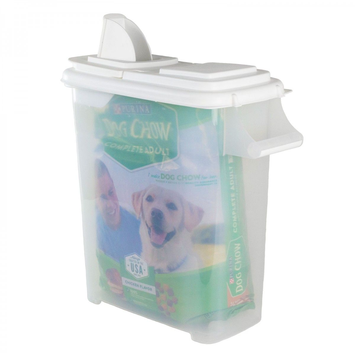 Buddeez Extra Large 32 Quart Bag In Pet Food Storage Container