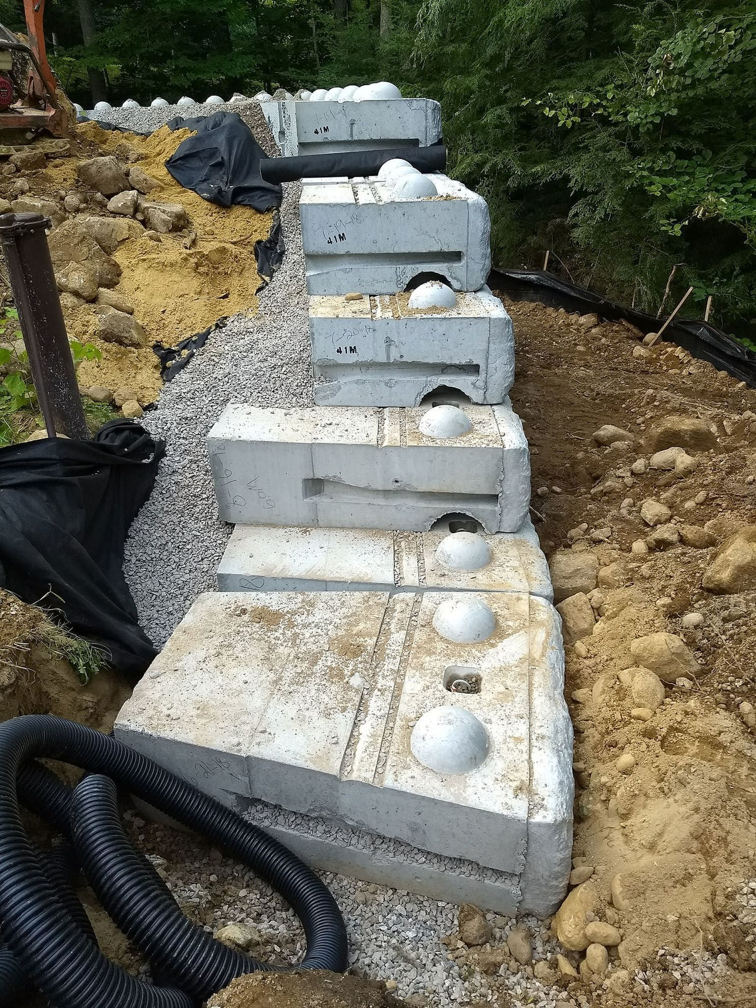 how to build a retaining wall at your home that will last on construction of walls id=58932