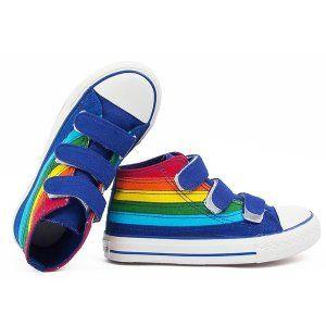 Rainbow Bright High Tops