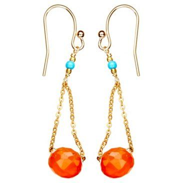 Check out this item at One Kings Lane! Carnelian Swing Earrings