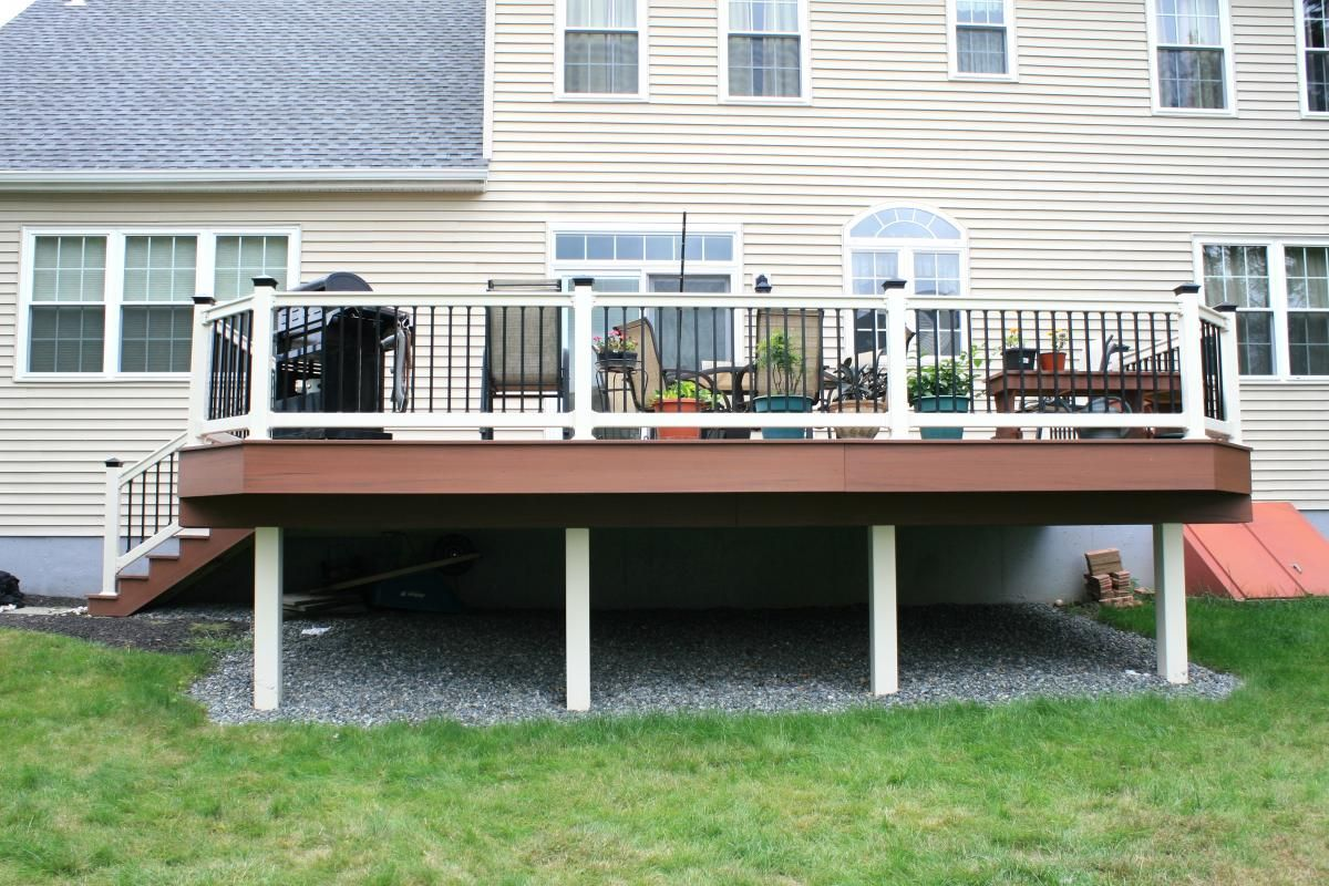 Deck Porches Deck Screen Rooms Storage And Options Under A Deck Decks R Us Under Deck Storage Deck Storage Diy Deck