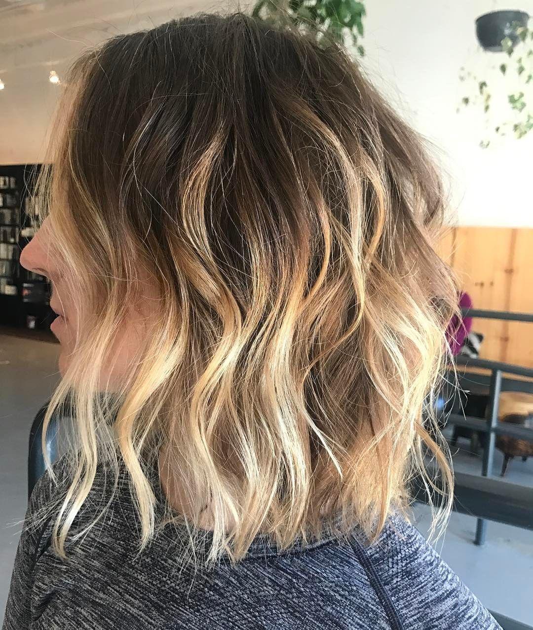 30 Schicke Tägliche Frisuren Für Mittellanges Haar Pinterest