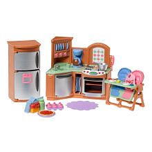fisher price loving family dollhouse premium decor furniture set kitchen fisher price. Black Bedroom Furniture Sets. Home Design Ideas