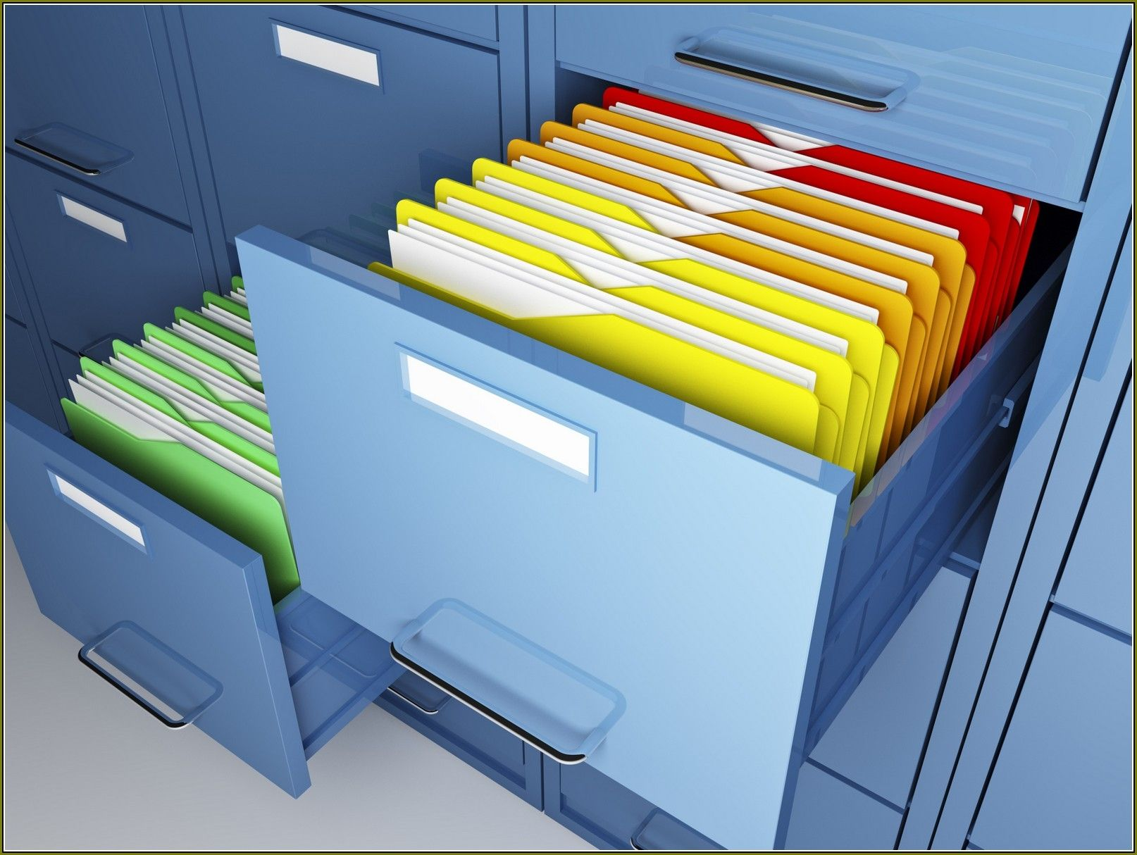 Hanging File Cabinet Dividers | http://advice-tips.com | Pinterest ...