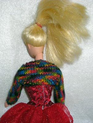 Barbie Doll Clothes-Free Shrug Knitting Pattern | a | Pinterest ...