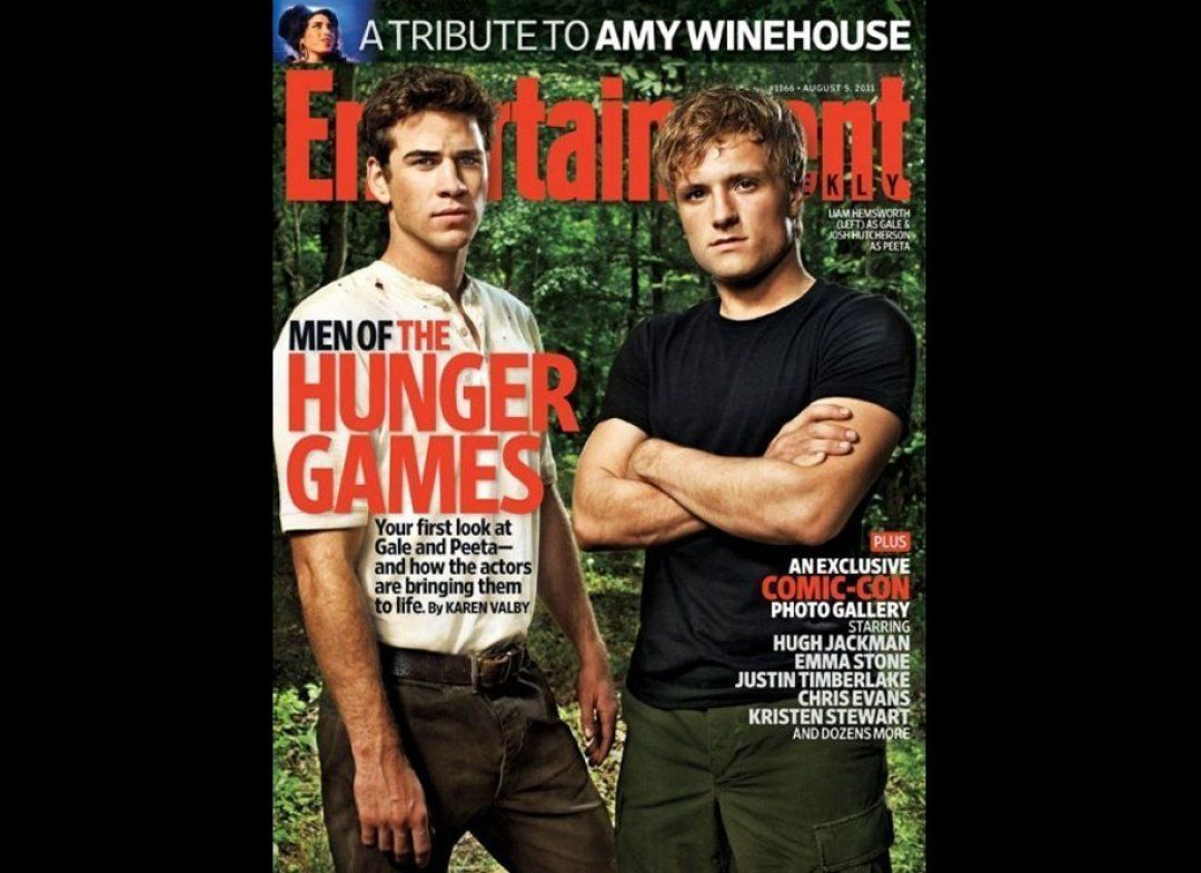 Men of The Hunger Games.