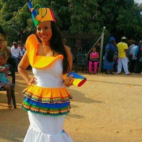 Sepedi traditional wedding dresses fashiong4 for Ethiopian traditional wedding dress 2017