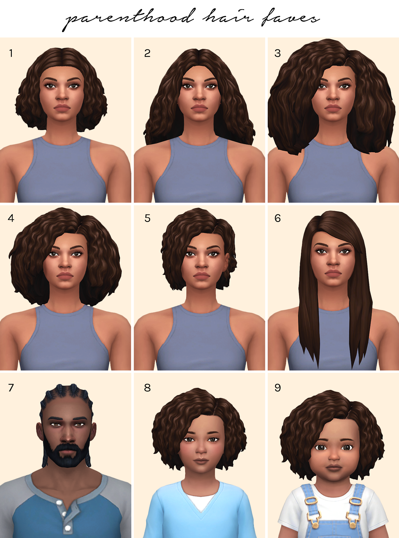 "leeleesims1 ""femmeonamissionsims "" Here s a little list of some of"