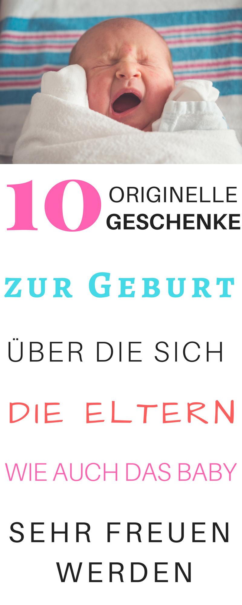 10 originelle Geschenke zur Geburt für Mädchen & Jungs | Pinterest ...