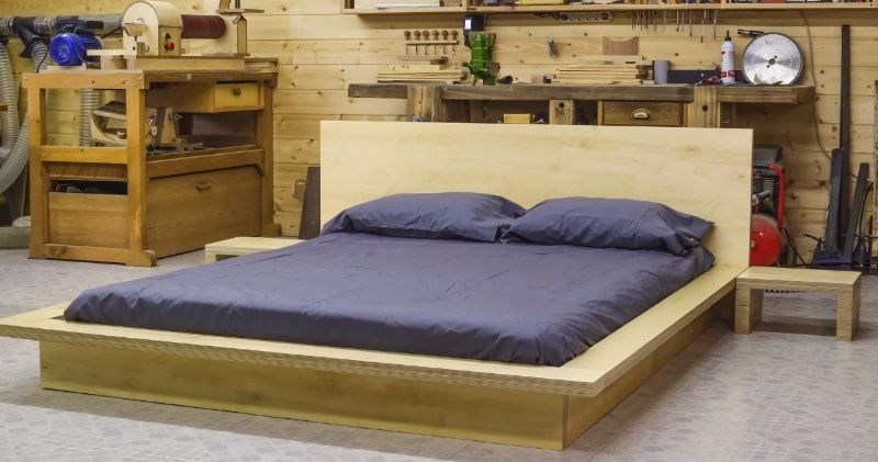How To Make A Plywood Japanese Style Tatami Bed Plywood Bed Designs Tatami Bed Japanese Style Bed