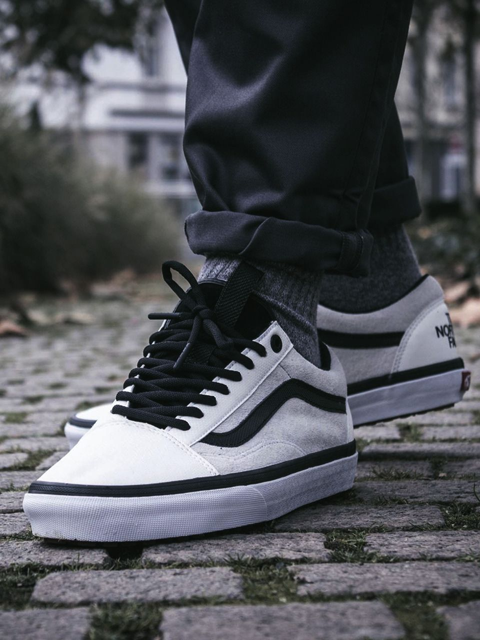 6a01d812ad The North Face x Vans Old Skool - 2017 (by chrisflanell) Buy here ...