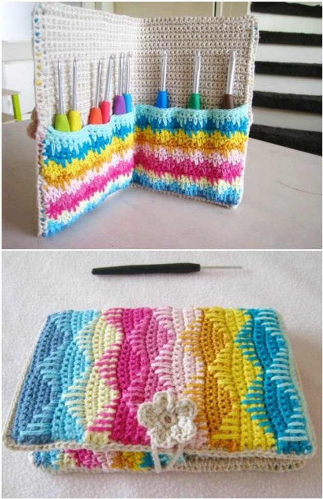 The Best Crochet Hook Case Patterns To Make