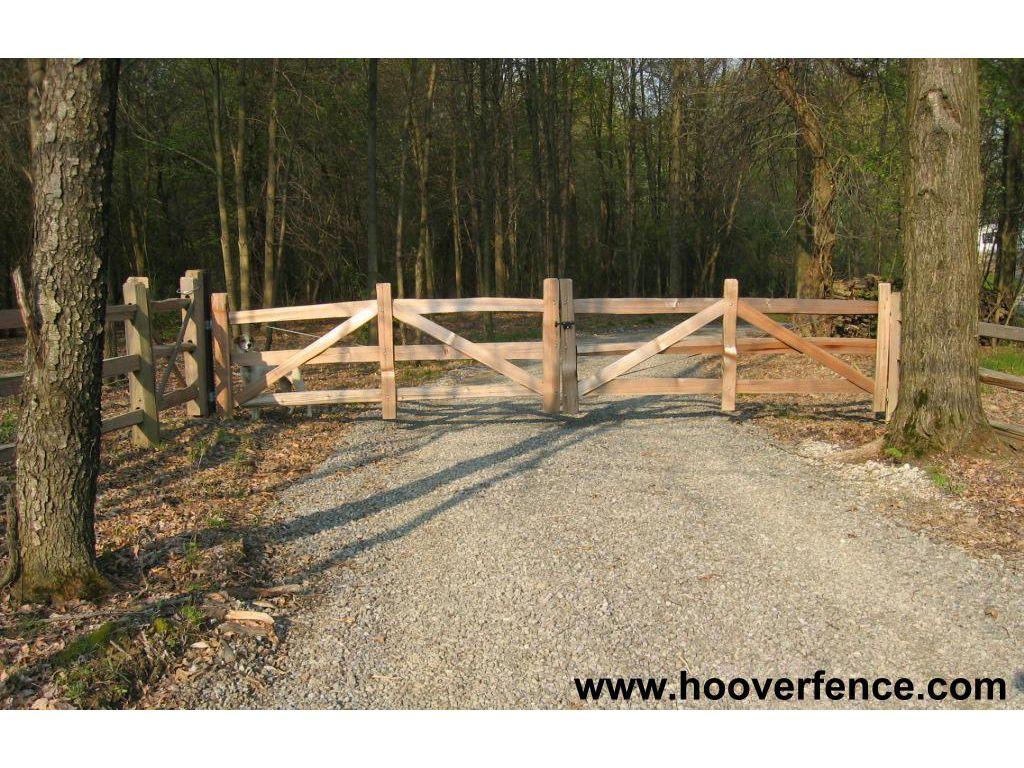 Hoover Fence Wood Split Rail Gates Western Red Cedar W Steel Frames Split Rail Fence Western Red Cedar Farm Gate