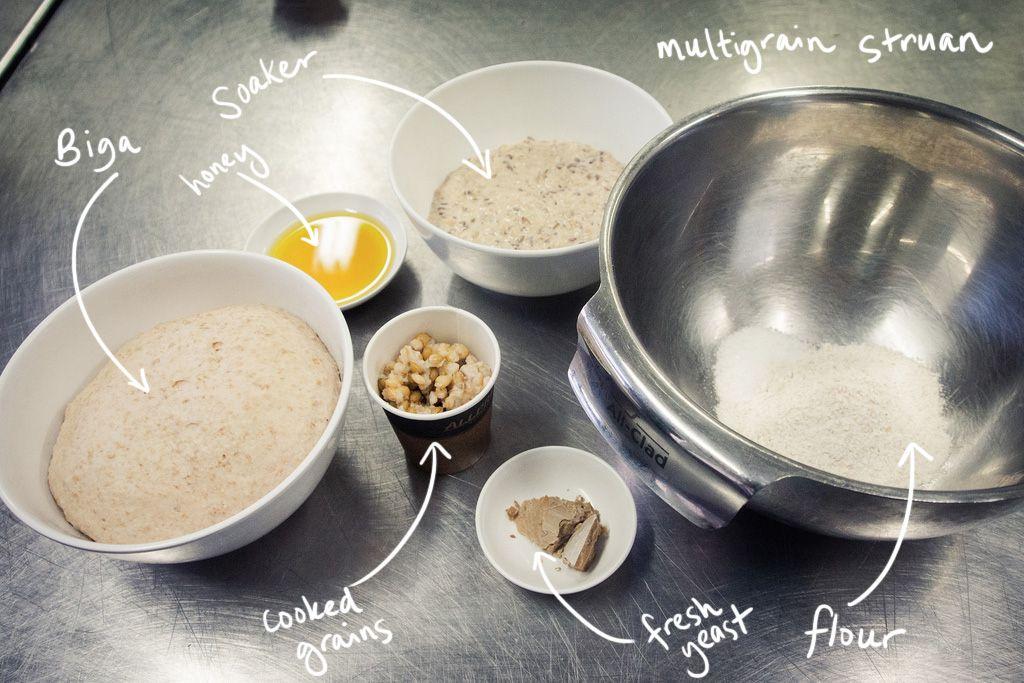 Brasserie Bread - Poolish & Soakers class