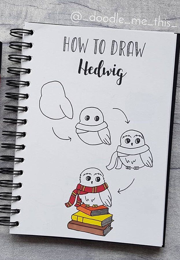 30+ Step By Step Bullet Journal Doodle Tutorials P