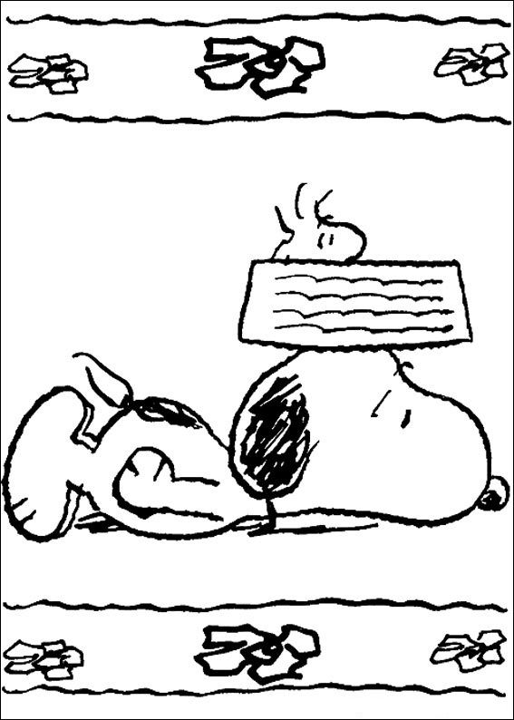 Free Printable Snoopy Coloring Pages For Kids | The Peanuts ...