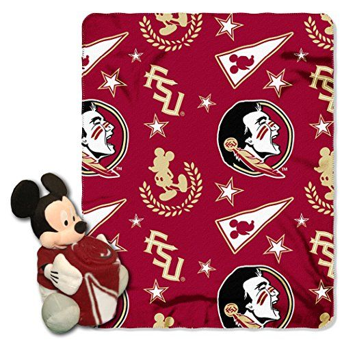 NCAA Florida State Seminoles 40x50-Inch Throw with 14-Inch Hugger
