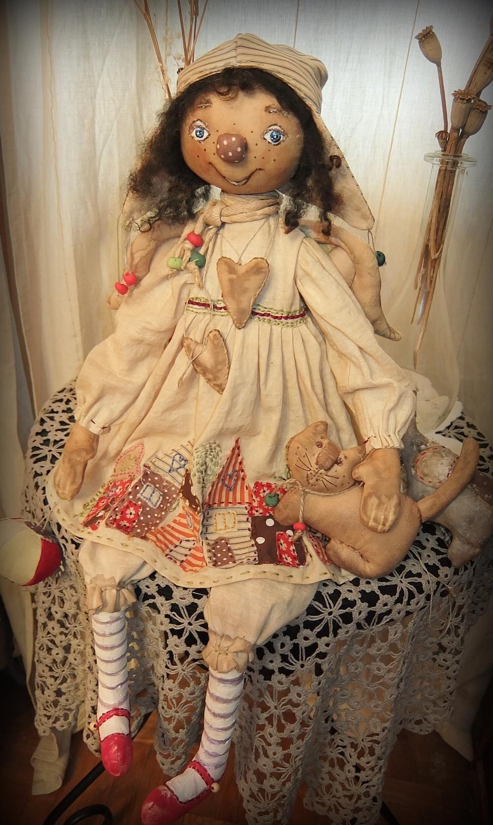 известные картины куклы примитивы фото что любимчик