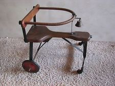 Vintage Wooden Baby Walker Antique