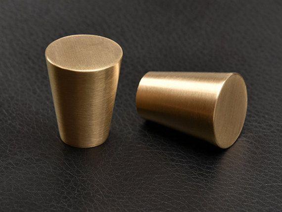 Style vintage rustique cuivre tiroir boutons tire poign es commode en laiton noir bronze meubles - Poignee de porte en cuivre ...