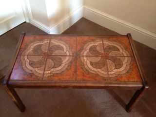 retro coffee table browns and cream for sale in Newcastle upon