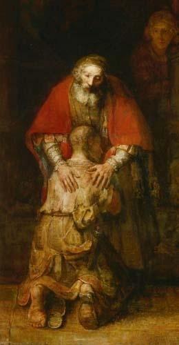 schilderij rembrandt de verloren zoon
