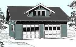 Best Craftsman Style 2 Car Garage Plan 577 1 By Behm Design 640 x 480