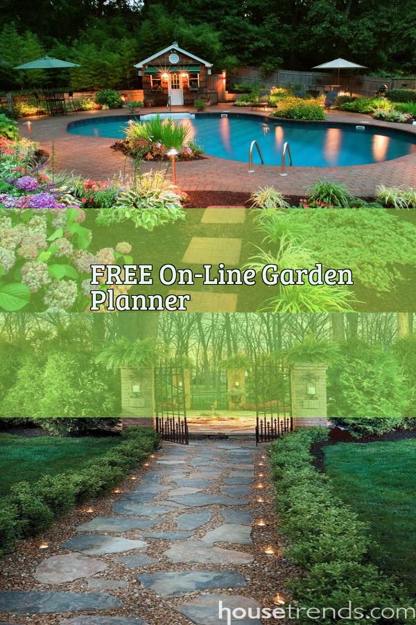 Free On Line Garden Planner Garden Planner Landscape Landscape Design