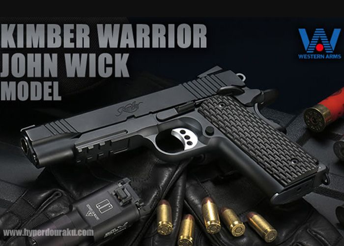WA Kimber Warrior John Wick Model | Guns | Hand guns, Guns, Kimber 1911