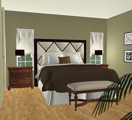 Free online 3d room planner for interior design space for Online bedroom planner