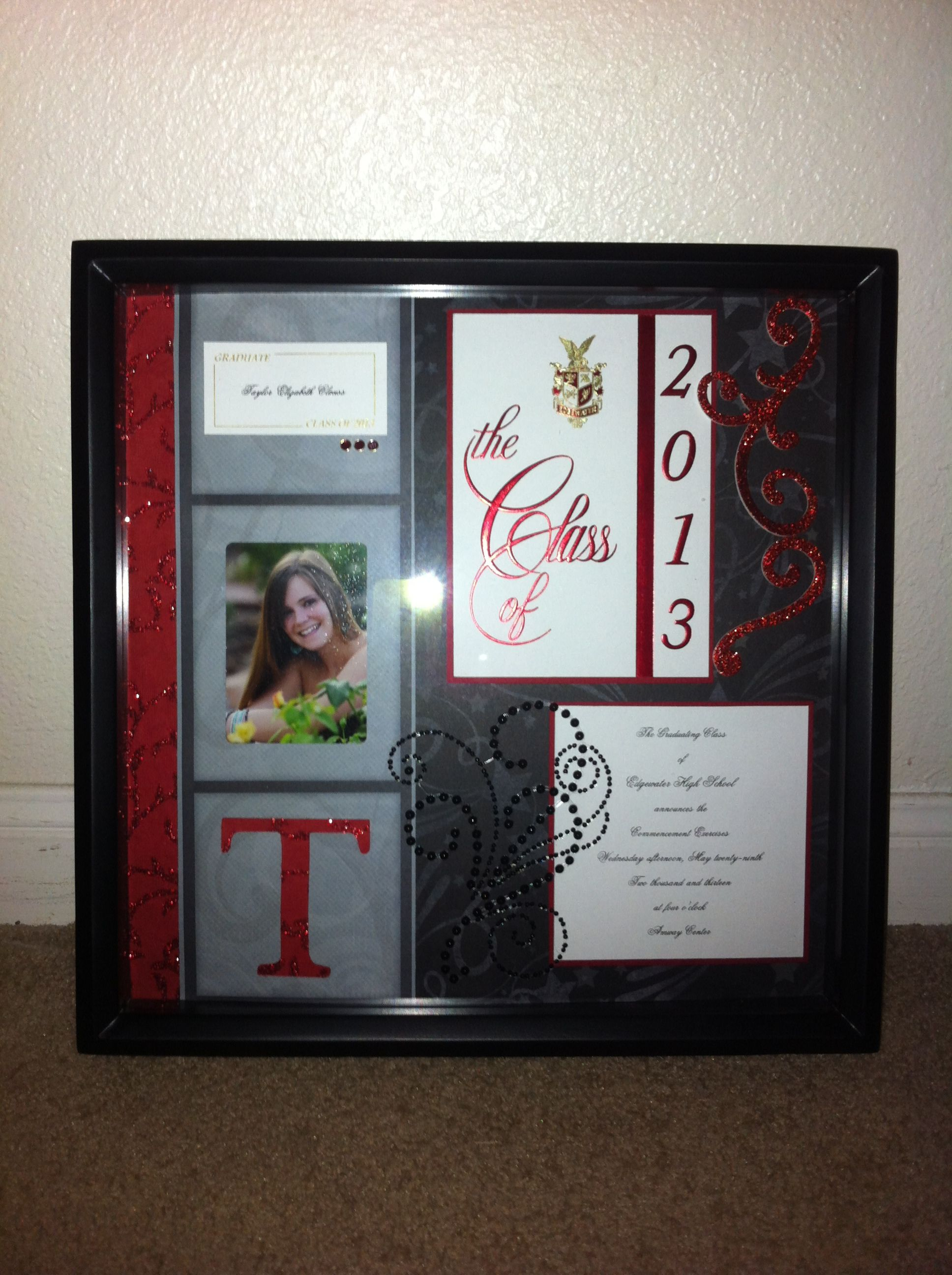 High School graduation gift | My Makes | High school ...