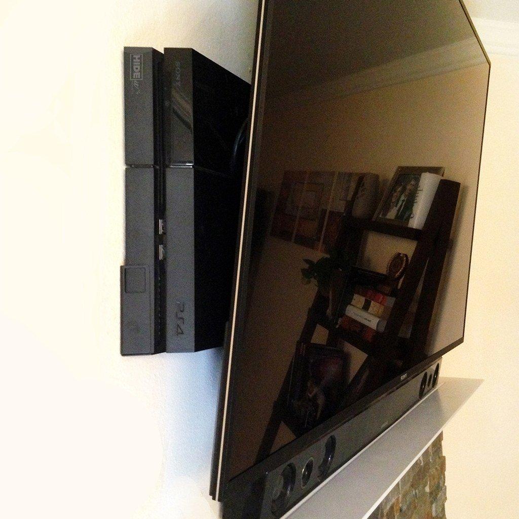 Hideit 4 Playstation Original Ps4 Wall Mount Ps4 Wall Mount Wall Mounted Tv Playstation