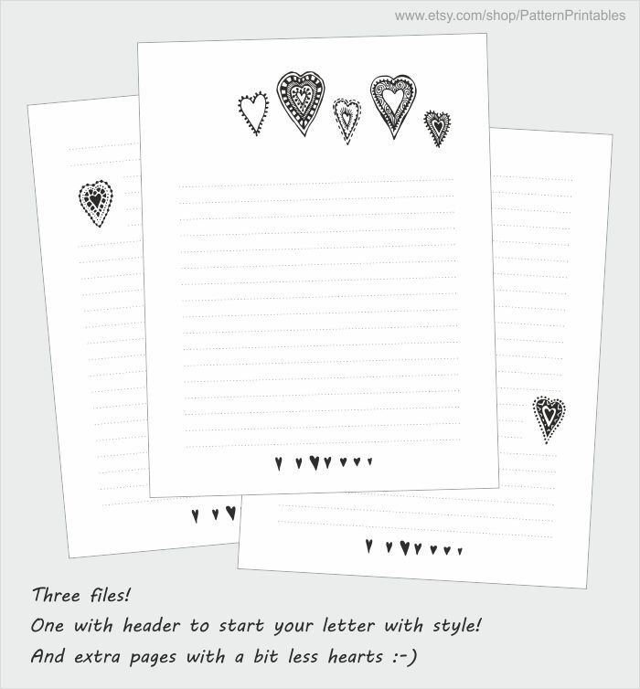 CHEERFUL PENGUINS - Lined Letter Writing Paper  Envelopes
