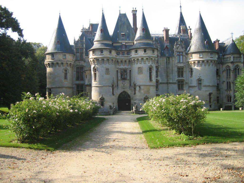 Chateau De Vigny France European Castles Castle Ruins Castle