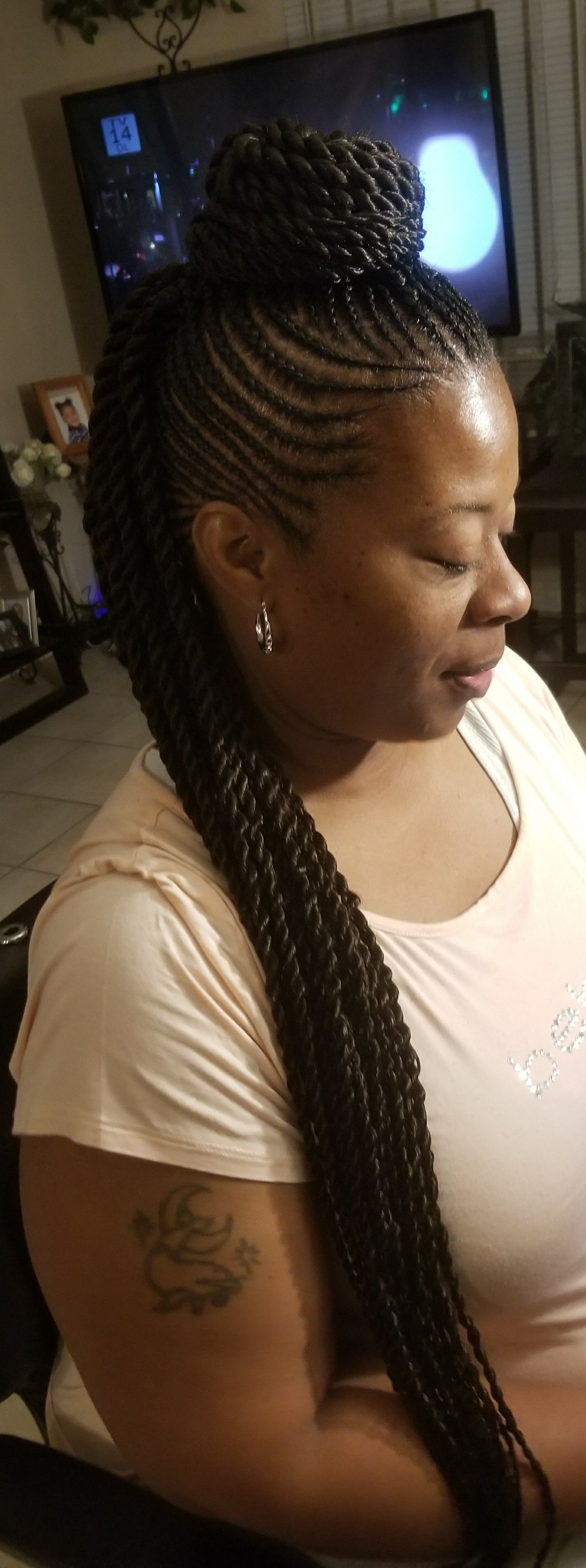 Hairbyjulieann braids pinterest protective styles black
