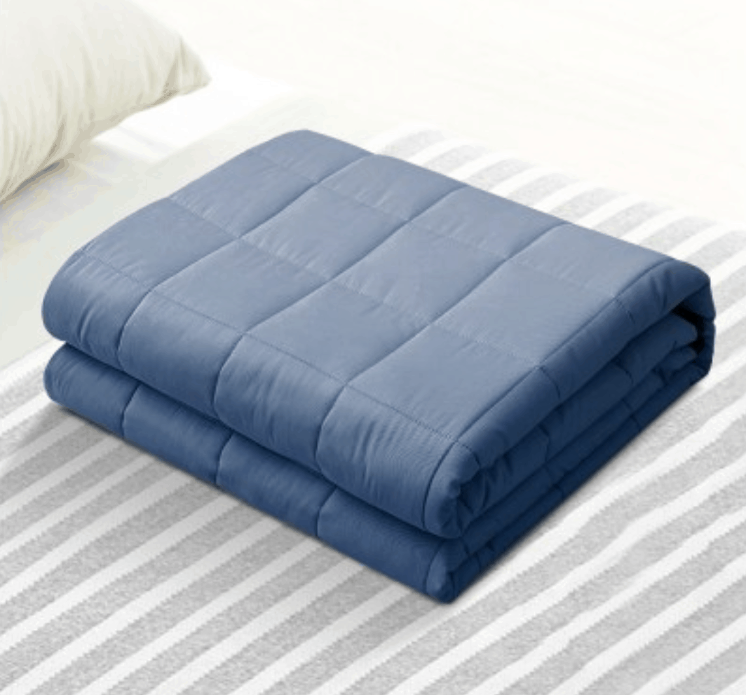 Kids Cooling Weighted Blanket Summer Blue Weighted Blanket Blanket Summer Blanket Cover