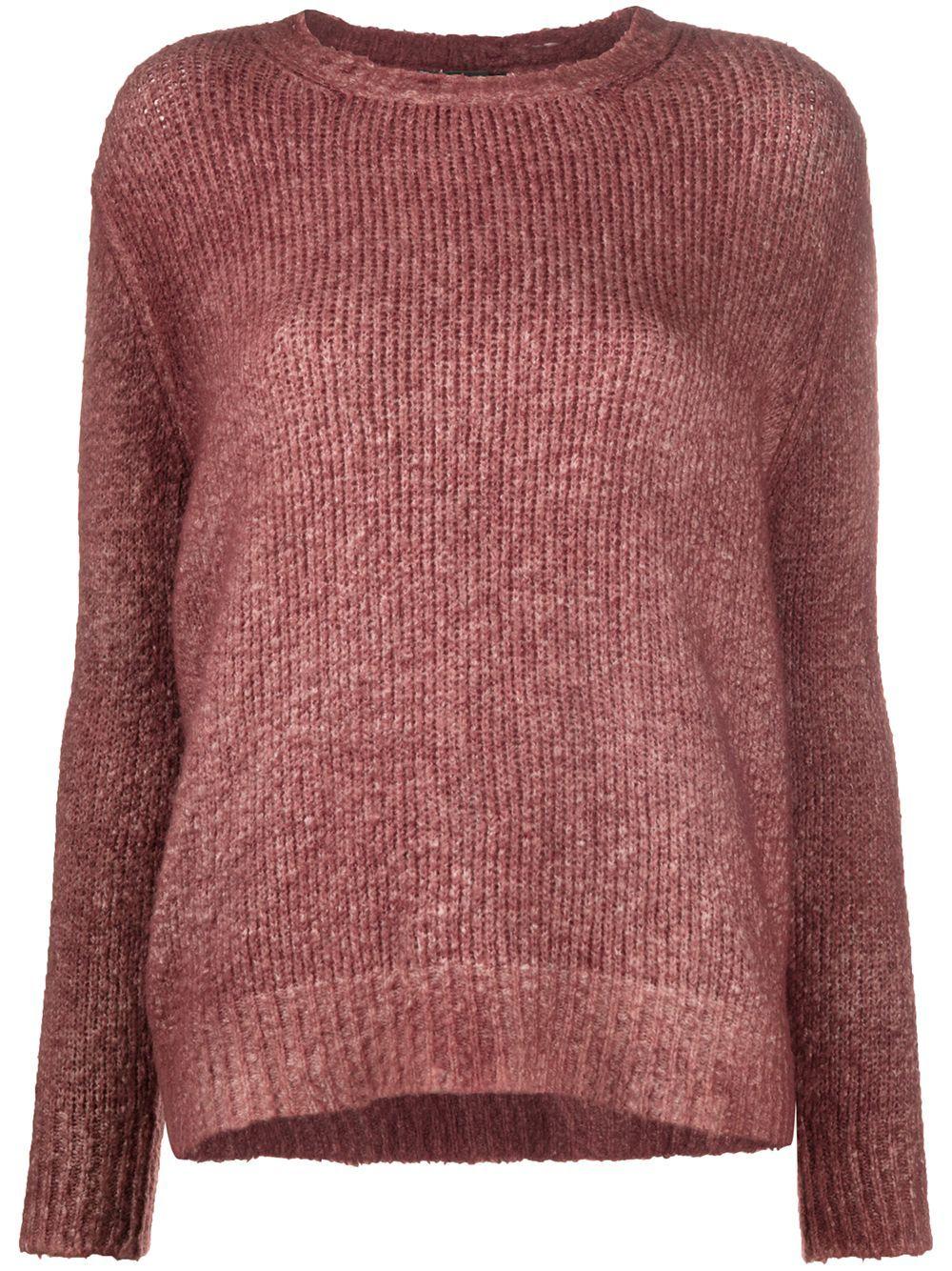 Avant Toi chunky knit jumper - Green