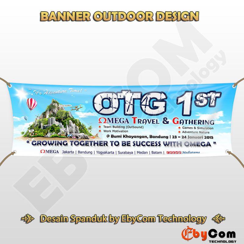 Desain Spanduk Gathering OTG 1   Spanduk, Desain