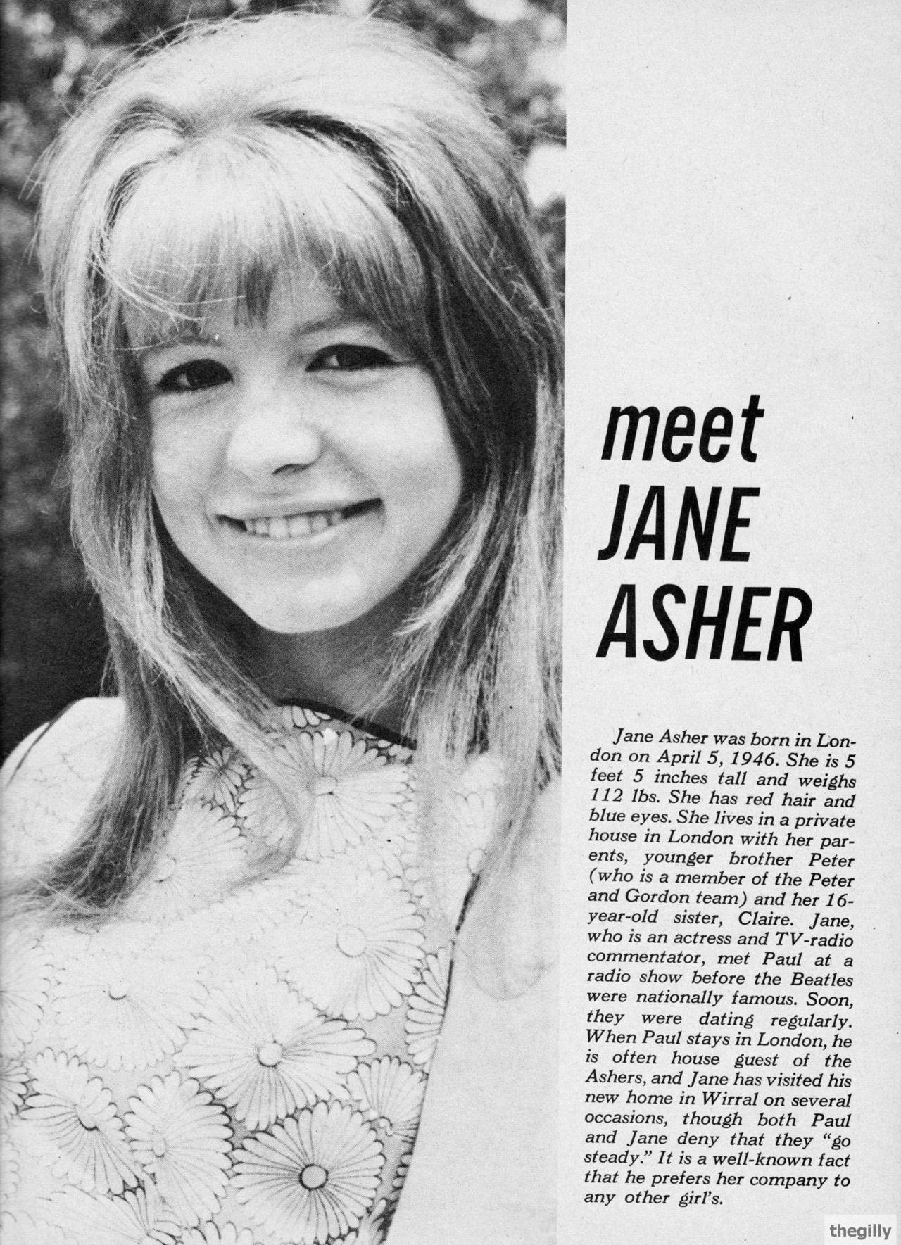 Forum on this topic: Judy Marte, jane-asher-born-1946/