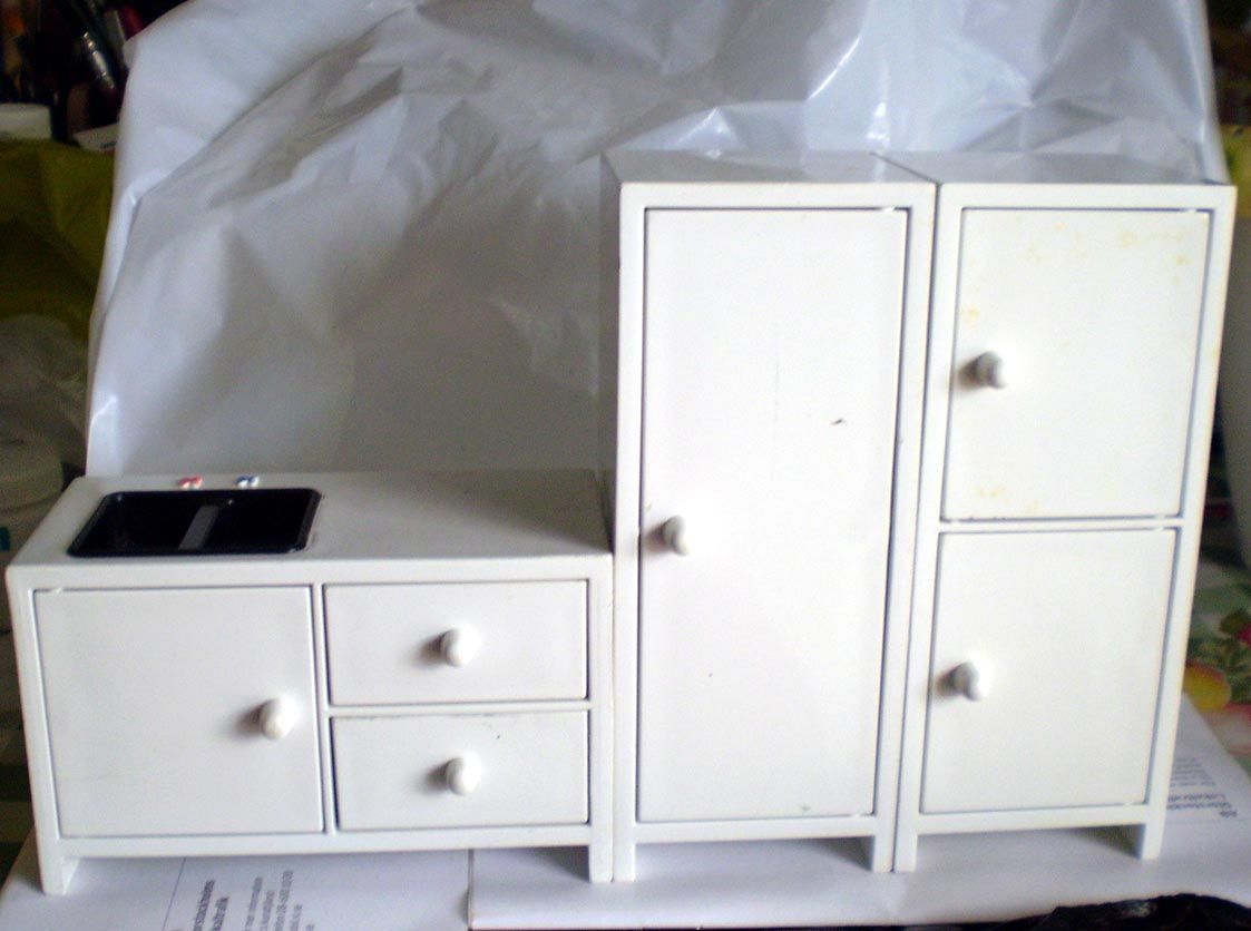 Ikea dollhouse furniture kitchen set.