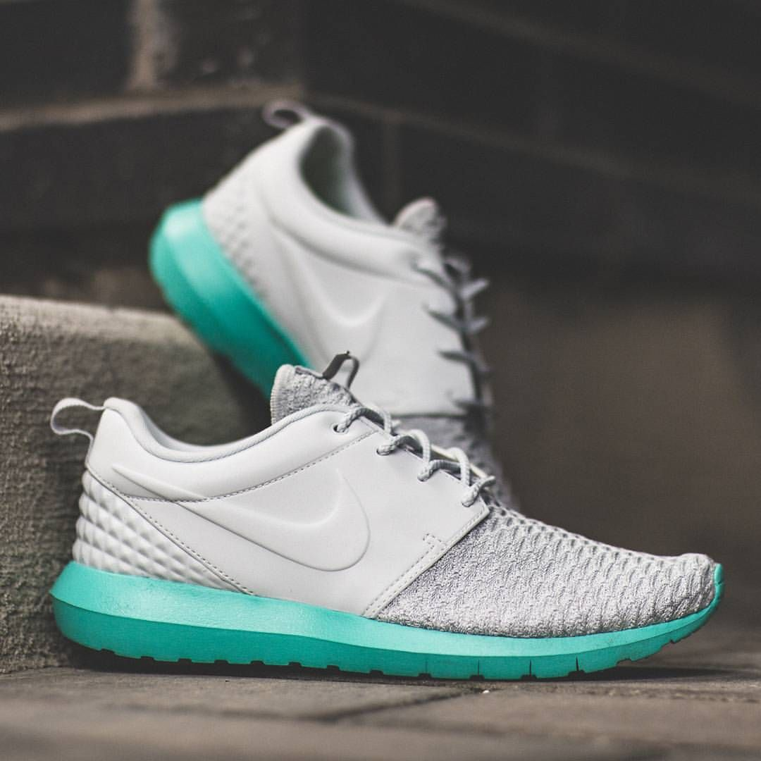 bc29cb12d9152 Nike Roshe One Fkyknit Premium Calypso   Pure Platinum is available in all  stores today