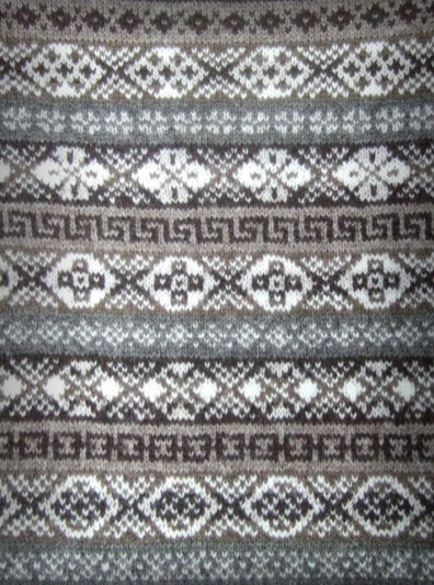 Old Photos Of Fair Isle Sweaters Taken From The Shetland Museum