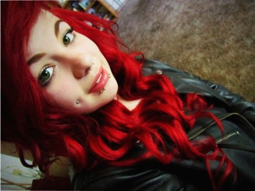 Love the color and curls <3