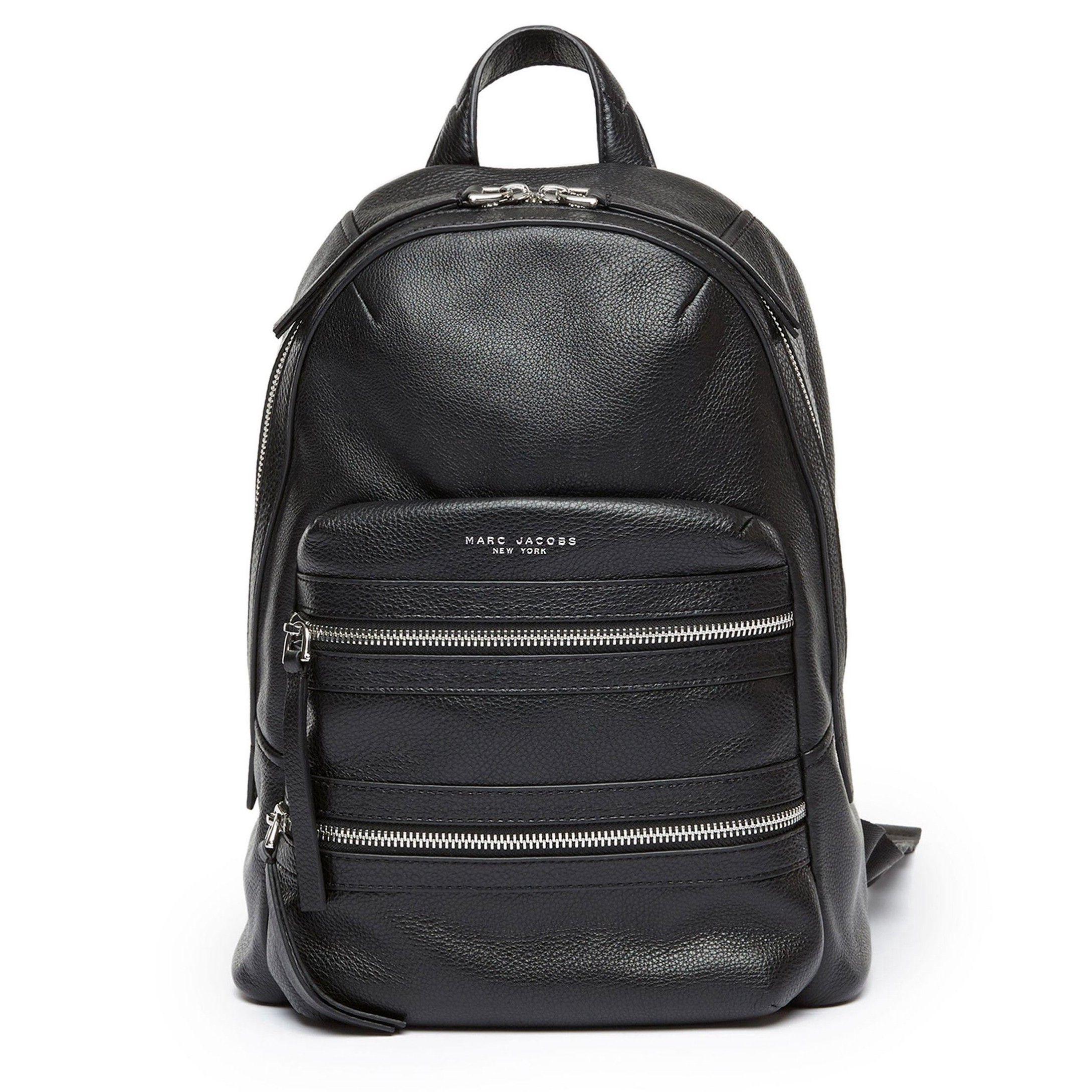 a9324da925 MARC JACOBS Biker Large Leather Backpack.  marcjacobs  bags  leather   backpacks