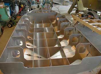 How to build a aluminum boat | DIY | Pinterest | Aluminum boat ...