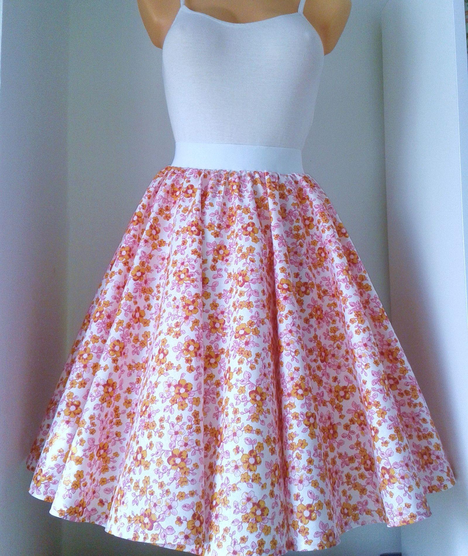 d58076d11331 sukně+kytička+Retro+kolová+sukně+z+kvalitní+pevné+bavlny.+V+pase+na+ ...