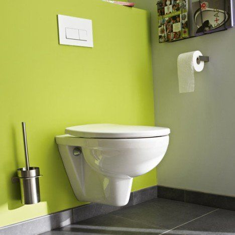 Pack WC suspendu bâti universel Club design 2 pieds cuisine